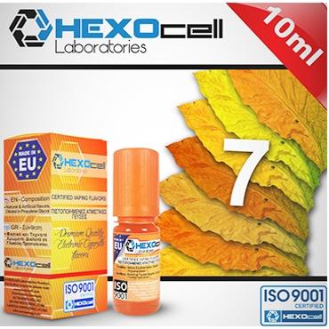 Άρωμα Hexocell 7 FOGLIE 10ml (ήπιο καπνικό)