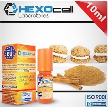 Άρωμα Hexocell CINNAMON COOKIES 10ml (κανέλα μπισκότο)
