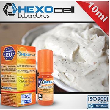 4483 - Άρωμα Hexocell VANILLA WONDERWALL 10ml (κρέμα βανίλια)