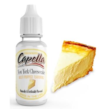 4498 - Άρωμα Capella New York Cheesecake 10ml (βατόμουρο μπισκότο κρέμα βούτυρο)