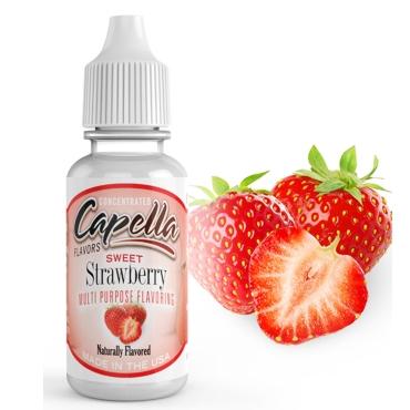 Άρωμα Capella SWEET STRAWBERRY 10ml (γλυκιά φράουλα)