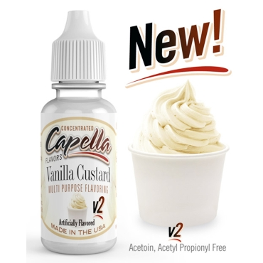 Άρωμα Capella VANILLA CUSTARD v2 10ml