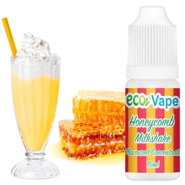 4517 - Άρωμα Eco Vape Honeycomb Milkshake 10ml (Κηρήθρα με μέλι και milkshake)