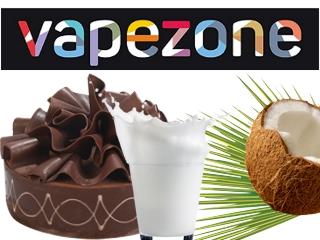 Vapezone CHOCO MILKMAN 30ml (καρύδα γάλα σοκολάτα)