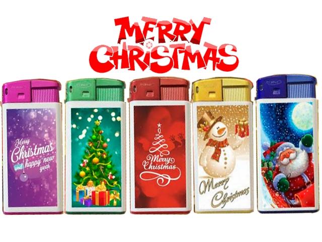 Αναπτήρας Χριστουγεννιάτικος Atomic Large ηλεκτρονικός 3608510