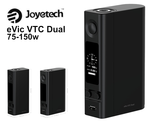 eVic VTC Dual by Joyetech 150w