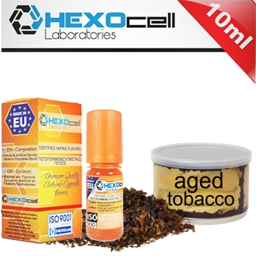 Άρωμα Hexocell AGED TOBACCO 10ml (παλαιωμένος καπνός)