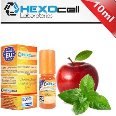 Άρωμα Hexocell APPLE MINT 10ml (μήλο & μέντα)