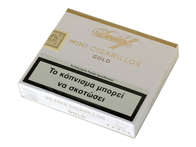 Davidoff Mini Cigarillos Gold (20 πουράκια)