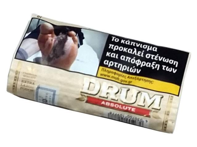 4719 - Καπνός στριφτού DRUM ABSOLUTE 30gr