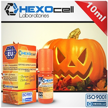 4724 - Άρωμα Hexocell HALLOWEEN FREAK 10ml (κολοκυθόπιτα)