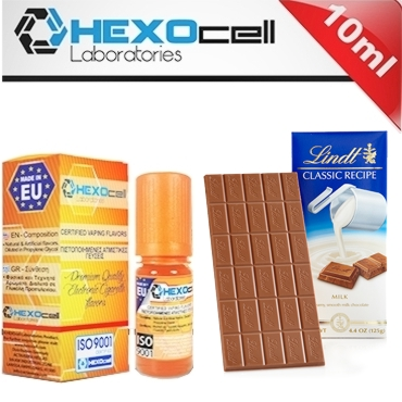 4728 - Άρωμα Hexocell MILKY CHOCOLATE (σοκολάτα γάλακτος) 10ml