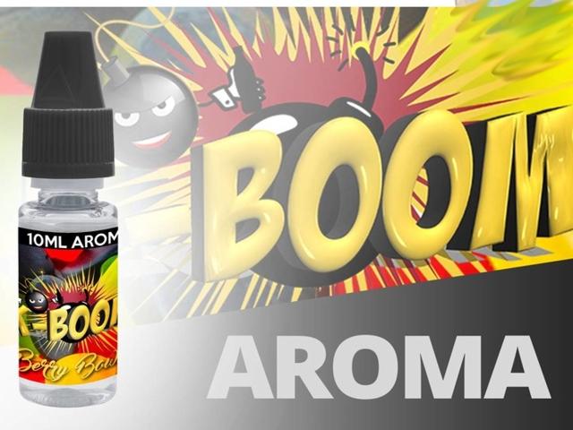 4737 - Άρωμα K-boom flavour BERRY BOWL 10ml (αγγλικό ρούμι)