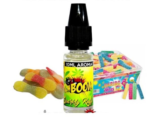 4747 - Άρωμα K-boom flavour SPARKLY RUFF 10ml (καραμέλες ζελεδάκια)