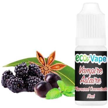 4759 - Άρωμα Eco Vape VAMPIRE ASTAIRE 10ml (βατόμουρο μέντα γλυκάνισος)