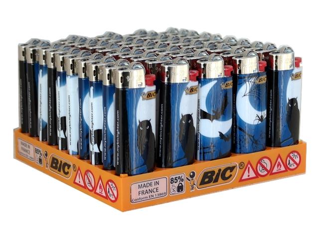 4796 - Κουτί με 50 αναπτήρες Bic Mini J25 slv ANIMALS