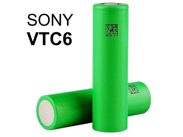 Αυθεντική 18650 SONY VTC6 3000mA 3.7V 30A