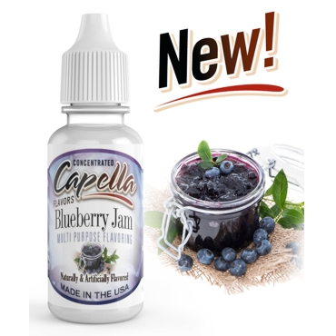 4820 - Άρωμα Capella Blueberry Jam 13ml (μαρμελάδα μύρτιλο)