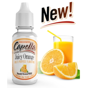 4851 - Άρωμα Capella Juicy Orange 13ml (χυμός πορτοκάλι)