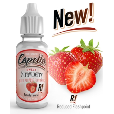 4861 - Άρωμα Capella Sweet Strawberry Rf 13ml (φράουλα)