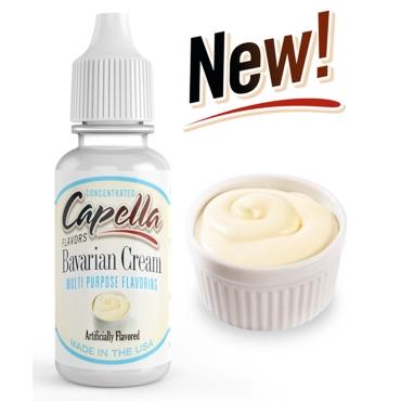 4875 - Άρωμα Capella Bavarian Cream 13ml (Βαυαρέζικη κρέμα)