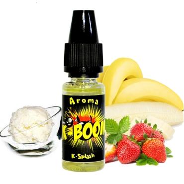 Άρωμα K-boom flavour K-SPLASH 10ml (παγωτό μπανάνα φράουλα)