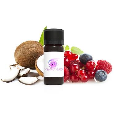 Άρωμα Twisted Vaping BAHAMA FOREST 10ml (φρούτα δάσους & καρύδα)