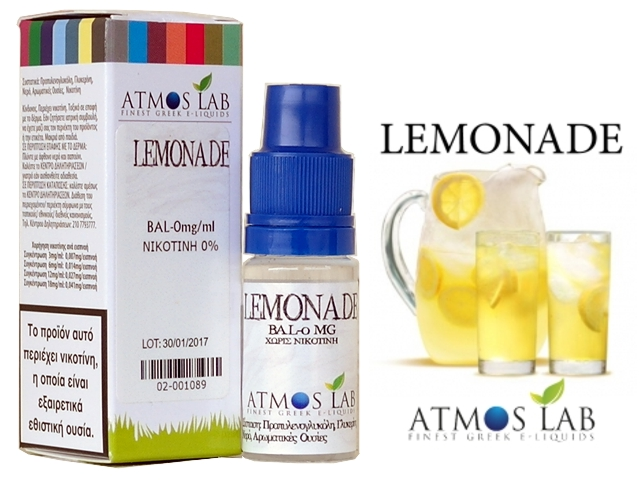 Atmos Lab LEMONADE 10ml (λεμονάδα)