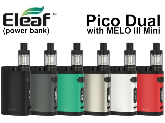 Pico Dual with MELO III Mini by Eleaf