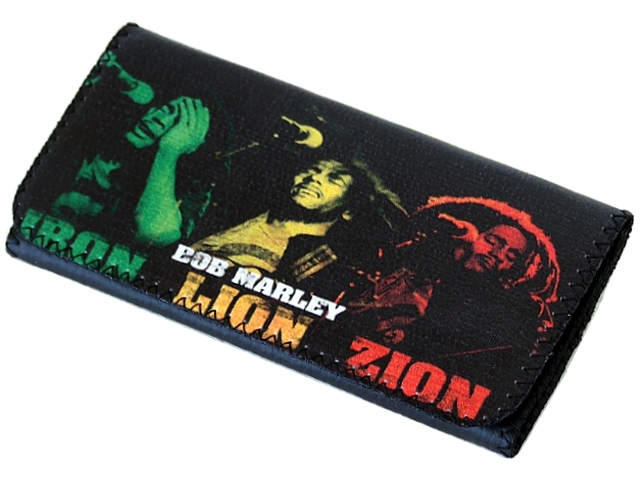 4980 - Καπνοθήκη SMOKA BOB MARLEY Iron Lion Zion (με Latex)