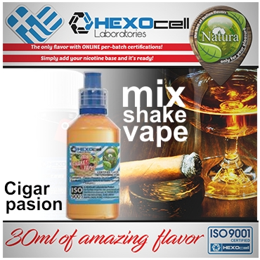 4998 - NATURA MIX SHAKE VAPE CIGAR PASSION 30/60ML (καπνικό)