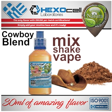 NATURA MIX SHAKE VAPE COWBOY BLEND 30/60ML (καπνικό)