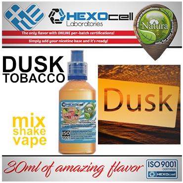 5006 - NATURA MIX SHAKE VAPE DUSK TOBACCO 30/60ML (ήπιο καπνικό & γλυκόριζα)