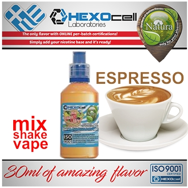 NATURA MIX SHAKE VAPE ESPRESSO 30/60ML (εσπρέσο)