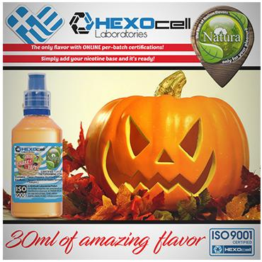 5013 - NATURA MIX SHAKE VAPE HALLOWEEN FREAK 30/60ML (κολοκυθόπιτα)