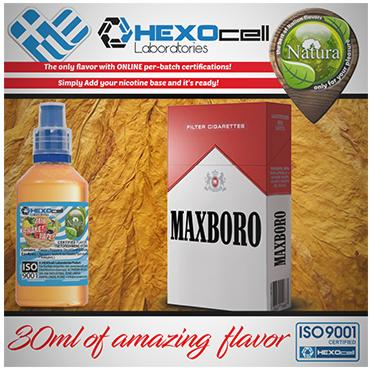 5016 - NATURA MIX SHAKE VAPE MAXBORO 30/60ML (καπνικό)
