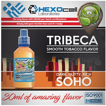 5023 - NATURA MIX SHAKE VAPE TRIBECA & SOHO 30/100ML (καπνικό)