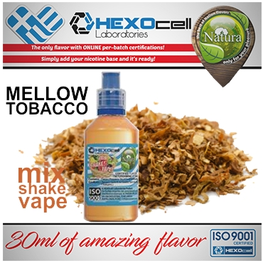 5025 - NATURA MIX SHAKE VAPE MELLOW TOBACCO 30/60ML (καπνικό)