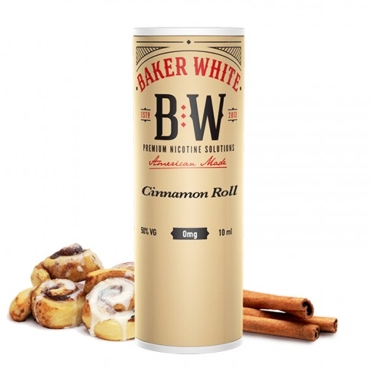 Baker White Cinnamon Roll 10ml (Tan) (ρολάκια κανέλας)