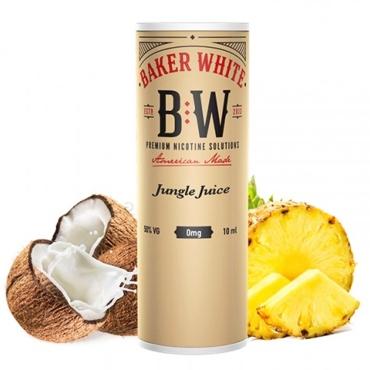 5100 - Baker White Jungle Juice 10ml (Tan) (ανανάς καρύδα μπανάνα)