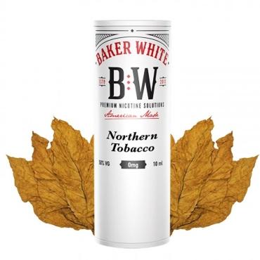 Baker White Northern Tobacco 10ml (White) (ελαφρύ γλυκό καπνικό)