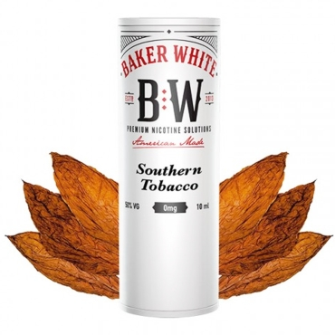 Baker White Southern Tobacco 10ml (White) (δυνατό γλυκό καπνικό)