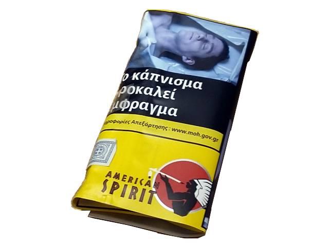5117 - Καπνός στριφτού AMERICAN SPIRIT Original Yellow 30γρ (κίτρινος)