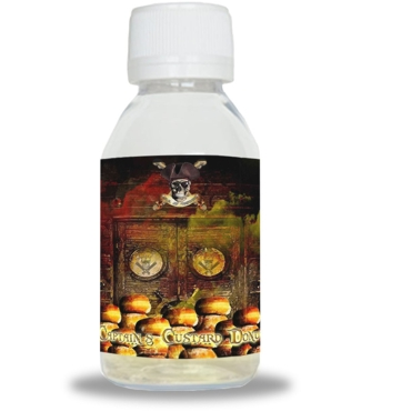 5123 - ISLE OF CUSTARD - CAPTAINS CUSTARD DONUT BOOSTED (50/60ml) (ντόνατς & κρέμα)