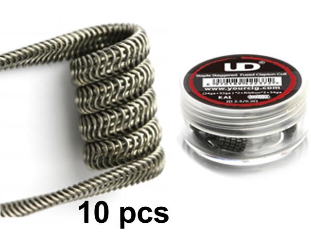 5144 - Προτυλιγμένο σύρμα UD Alien coil 26GA 0.15Ω (10 σύρματα)