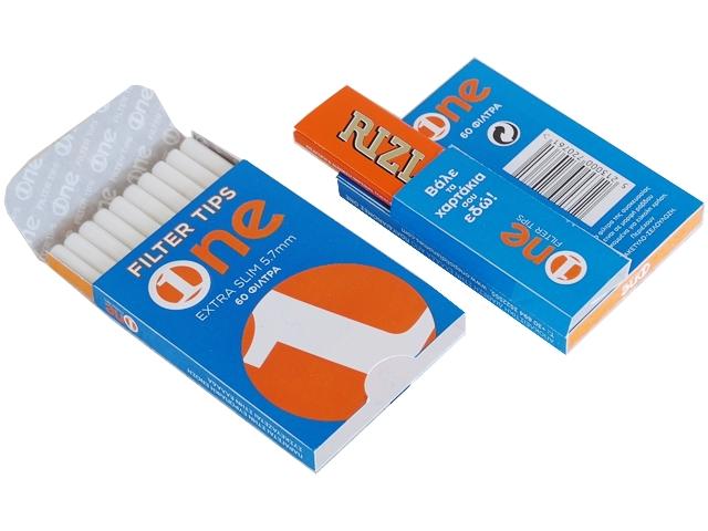 5153 - Φιλτράκια στριφτού One Extra Slim 60