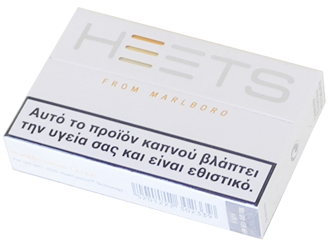 5156 - Ανταλλακτικά IQOS HEETS YELLOW κίτρινο (20 τεμάχια) ελαφριά γεύση