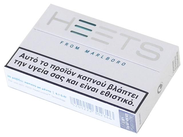 5157 - Ανταλλακτικά IQOS HEETS ΤΥΡΚΟΥΑΖ (20 τεμάχια) γεύση μέντας
