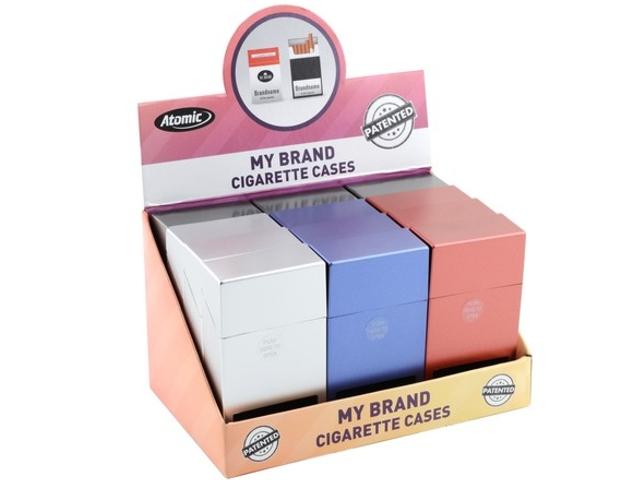 5179 - Κουτί με 12 θήκες για εκατοστάρια τσιγάρα ATOMIC Jump-Open Box 100mm 0451500