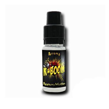 5183 - Άρωμα K-boom flavour RASPBERRY INFECTION 10ml (βατόμουρο)